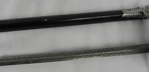 WWII Diplomats sword? Please help with ID
