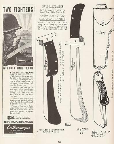 WWII Folder Blade