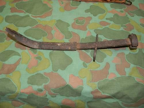 M1 carbine bayonet found