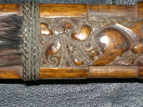 SAS Iban Trackers sword- knife