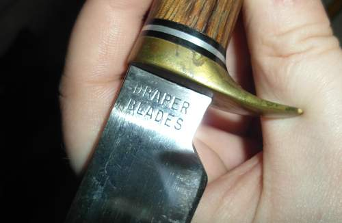 William Rodgers Cut My Way Knife with Sheath