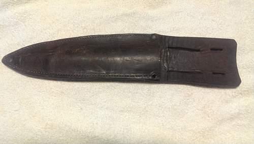 US GI Theater Made Knife