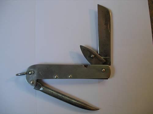Canadain Marlin Spike Knife