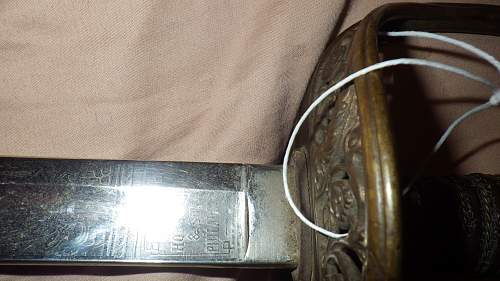 Old usmc sword looking to find out some info