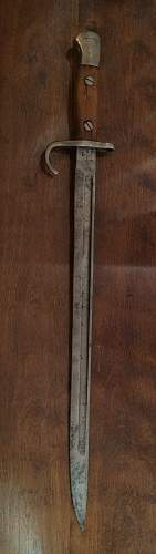 WOW!!! A Pattern 1907 Hooked Quillon Bayonet ...Thank You CampX