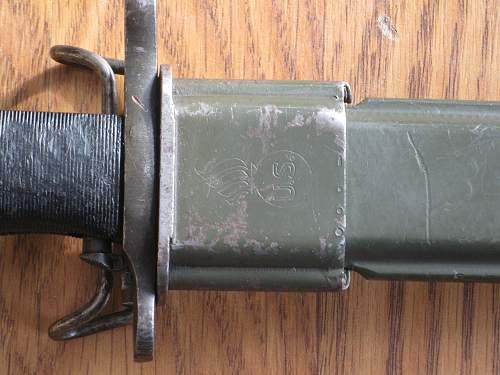 M1 Garand short Bayonet