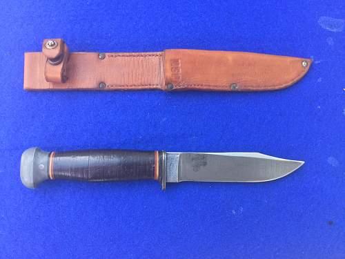 U.s. Navy knife