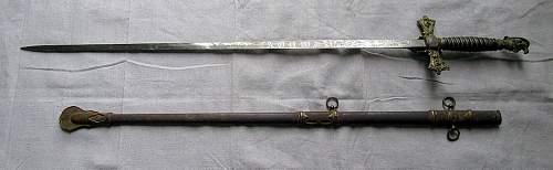 Fraternal Knight's Templar sword?