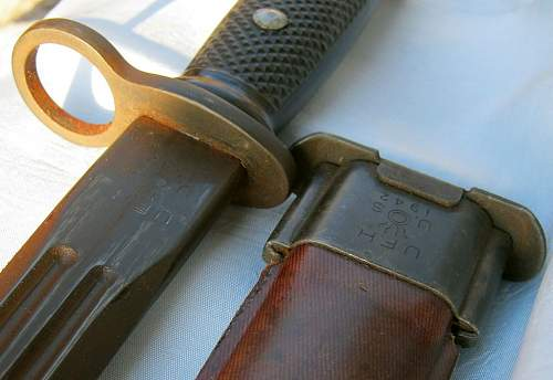 US Bayonet by American Fork & Hoe dated 1942 - model ???