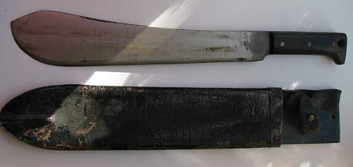 1943 British machete, US made