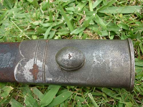 Snider carbine 2nd-type sawback bayonet