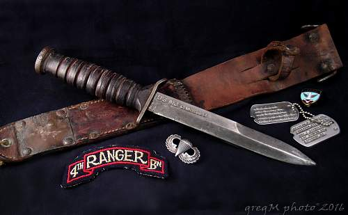 M3 Camillus trench knife