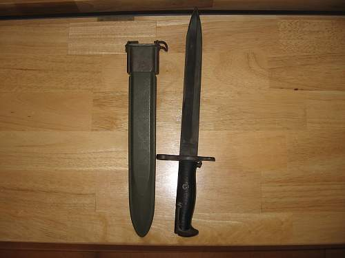 My New M1 Garand Bayonet and others