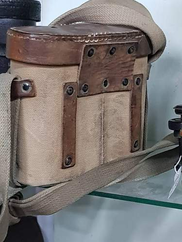 Binocular case sovietic WW2