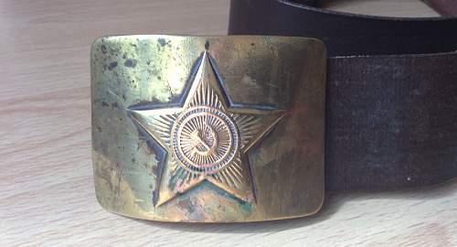 Russian belt identification