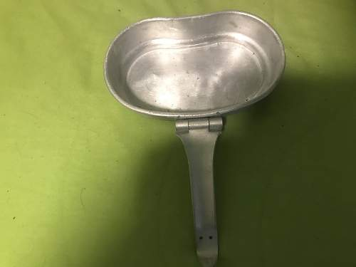 Original 1936 russian mess kit cover with soldiers initials