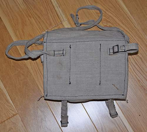 Molotov cocktails carrying bag