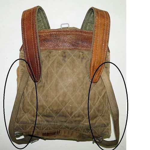 M38 backpack