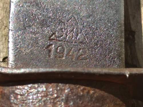 Russian 1942 knife