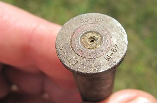 Odd Soviet shell casing