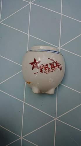 """Hanko S. Finland """"Gangut"""" Soviet WW2 items found near a Soviet underground hospital"""