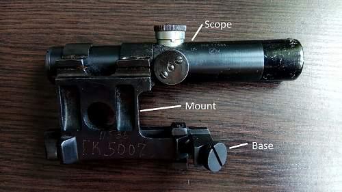 Mosin Sniper Sniper telescope