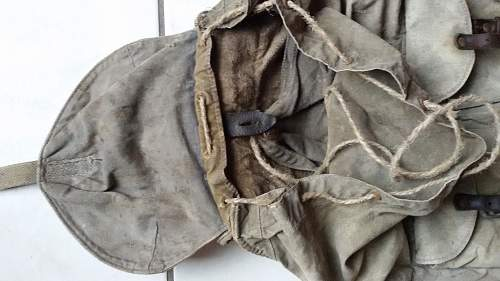M41 backpack in well worn combat used condition