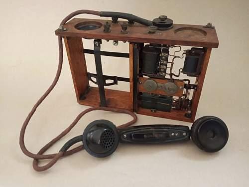 Field telephone UNA-F-31