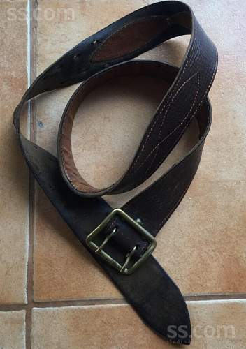 Wartime Red army belt?