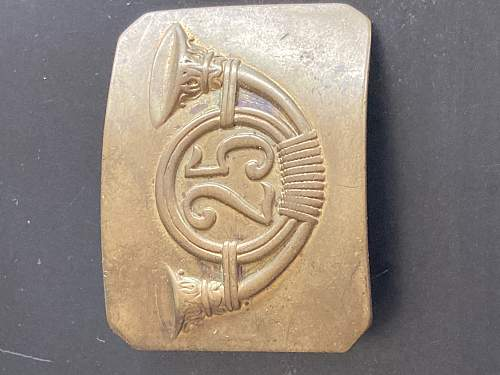 Belt buckle for ID