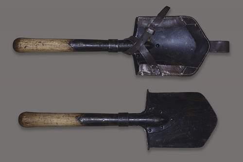 Restauration of a Russian shovel 1940