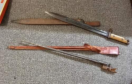 Svt38 bayonet?