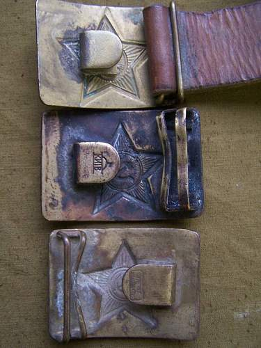 M 35 Military school belt buckle, how to recognize a period one
