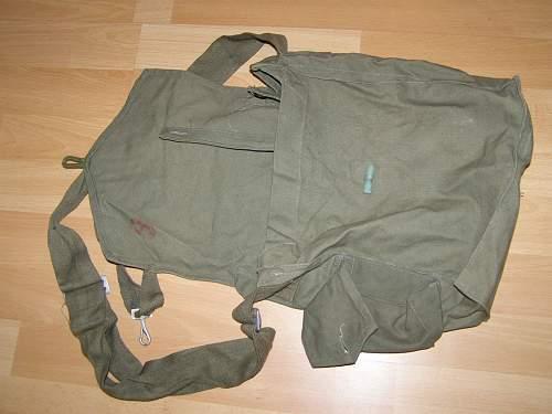 Gasmask bags