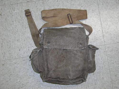 Gas Mask Carrier with US style fasteners