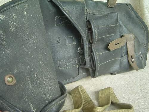 Flare-rocket pistol holster uknown version
