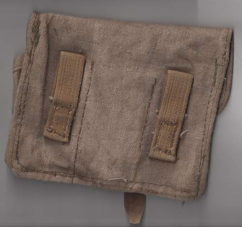 Russian F-1 Grenade Pouch & Calculating Mortar Disc
