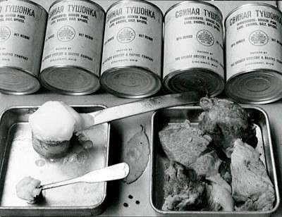 Soviet 1940-41 year meat ration