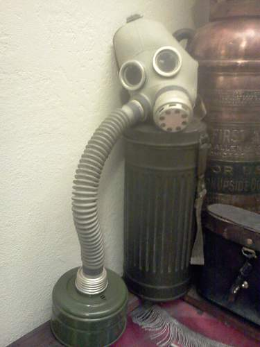 Russian Child's Gas Mask!!