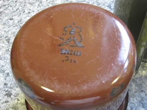 Soviet tea mug help