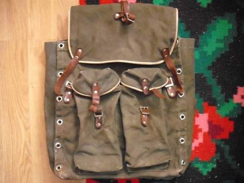 Backpack russian or romanian
