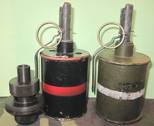 Soviet grenades...