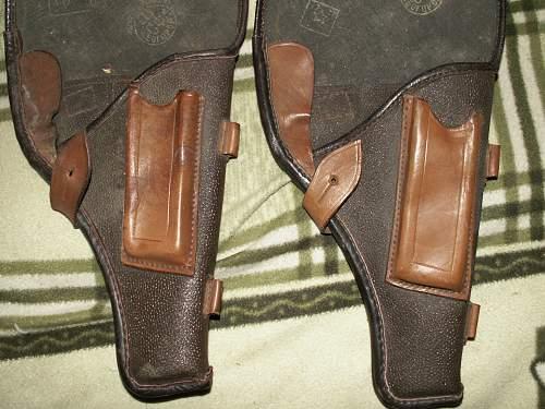 Tokarev pistol holsters