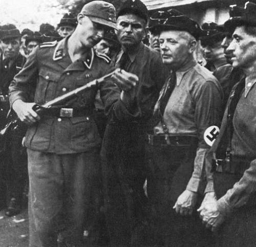 German WW2 Buckle conversion