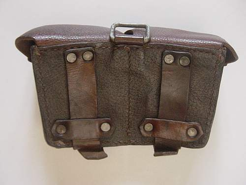 Click image for larger version.  Name:Mosin Nagant ammo pouch 002.jpg Views:2058 Size:244.5 KB ID:30898