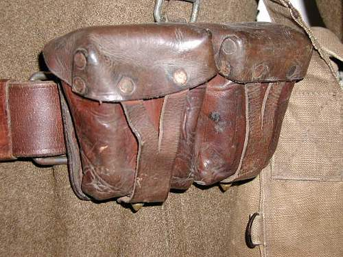 Russian Mosin-Nagant ammo pouch? WW2 or Postwar ?