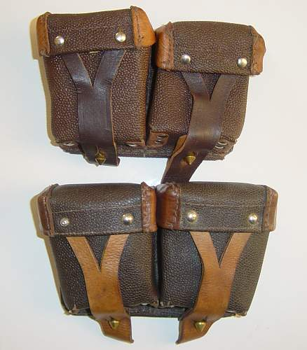 Click image for larger version.  Name:Mosin Nagant ammo pouches..jpg Views:1333 Size:164.2 KB ID:31706