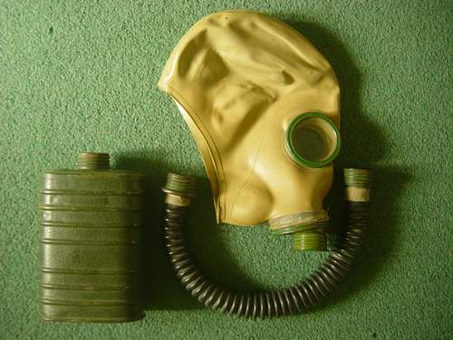 Soviet Gas Masks and Bags