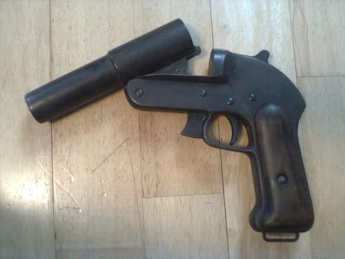 russian flare gun ?