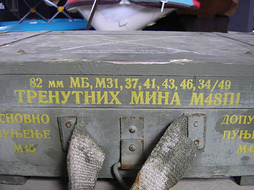 Russian Ammo box
